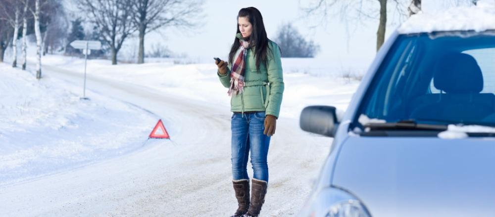вскрытие замков автомобилей зимой